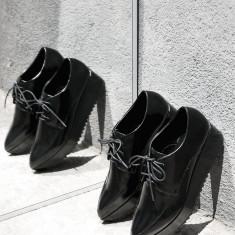 PANTOFI MANGO - Pantof dama Mango, Culoare: Negru, Marime: 40