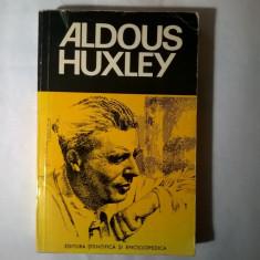 Aldous Huxley prezentata de Mircea Padureleanu - Eseu