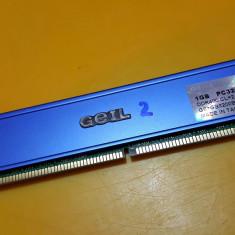 1GB DDR1 Desktop, Brand Geil Radiator, 400Mhz, PC-3200(2) - Memorie RAM