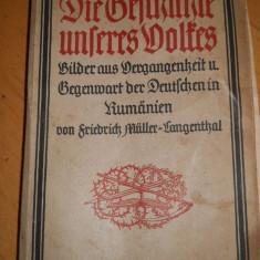 Die Geschichte Unseres Volkes - Friederich Muller Langenthal - 1926 - - Carte in germana