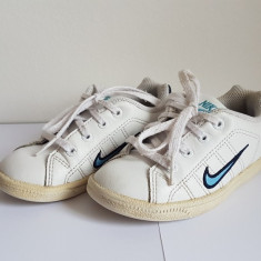 Incaltaminte sport copii mici - Adidasi copii Nike, Marime: 25.5, Culoare: Alb