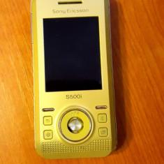 Sony Ericsson S500i - 119 lei - Telefon mobil Sony Ericsson, Negru, Nu se aplica, Neblocat, Fara procesor