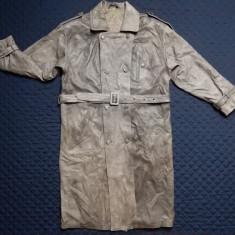Palton piele naturala Vera Pelle Made in Italy; marime 50, vezi dim.; ca nou - Palton dama, Culoare: Din imagine
