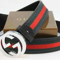 CURELE UNISEX GUCCI, IMPORT ITALIA/LOGO METALIC-IMPORT ITALIA - Curea Dama Gucci, Marime: Marime universala, Culoare: Din imagine