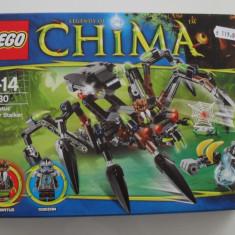 Lego Chima 70130 Masinaria de urmarire a lui Sparratus' Spider Stalker SIGILAT - LEGO Legends of Chima