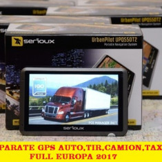 """GPS NAVIGATII GPS 5"""" HD SPECIAL CAMION Primo TRUCK FULL Europa rutare CAMION, Toata Europa, Lifetime"""