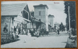 Borsec , 2 ilustrate interbelice , animatie, Ambele, Romania 1900 - 1950