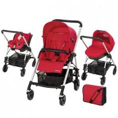 Carucior Trio Streety Intense Red - Carucior copii 3 in 1 Bebe Confort