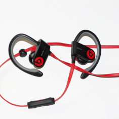 Casti Beats Powerbeats 2 Monster Beats by Dr. Dre, Casti In Ear, Cu fir, Mufa 3, 5mm, Active Noise Cancelling