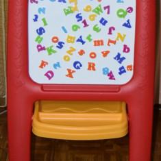STEP2 Tabla dubla pentru copii - Easel for Two Culoare Rosu Altele
