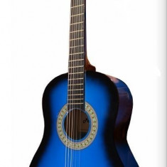 Chitara clasica din lemn 95 cm × 35cm