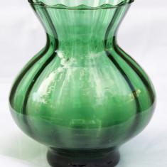 Vaza sticla verde