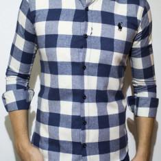 Camasa logo Polo -camasa slim fit camasa carouri camasa barbati cod 118, Marime: L, XL, XXL, Culoare: Din imagine, Maneca lunga