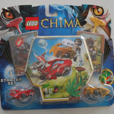 Lego Chima 70113 Luptele CHI Battles 92piese 2 figurine Nou original sigilat - LEGO Legends of Chima