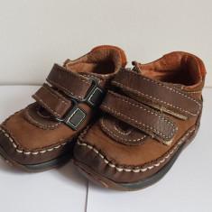 Incaltaminte bebelusi - Pantofi copii Melania, Culoare: Maro, Marime: 18
