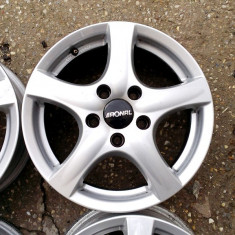 JANTE RONAL 15 5X112 VW AUDI SKODA SEATT MERCEDES - Janta aliaj Ronal, 6, 5, Numar prezoane: 5