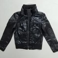 Jacheta piele naturala Only Jeans Limitless Leather Lightning Style; L; ca noua - Jacheta dama, Marime: L, Culoare: Din imagine