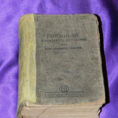 Formular matematic si tehnic pentru elevi studenti si tehnicieni 1950 (f0044