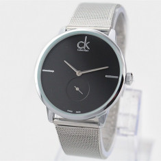 CEAS DAMA CALVIN KLEIN CITIFIED CONECT BLACK&SILVER EDITION-SUPERB-MODEL 2017 !!, Fashion, Quartz, Inox, Rezistent la apa