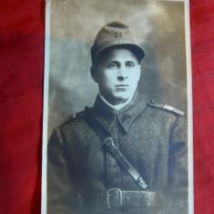 Fotografie Sergent Major, interbelica - Fotografie veche