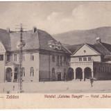 #1874- Romania, Zeiden, Codlea carte postala necirc: Hotelul Cetatea Neagra