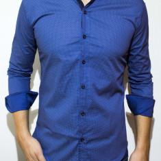 Camasa tip Zara -camasa buline camasa slim camasa eleganta camasa barbat cod 75 - Camasa barbati, Marime: S, XL, Culoare: Din imagine, Maneca lunga