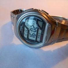 Ceas barbatesc CASIO Wave Ceptor, alarma calendar, multe functii, Sport, Quartz, Inox, Data, Electronic