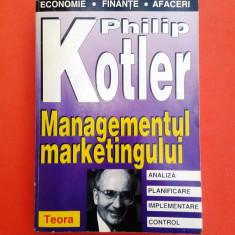 MANAGEMENTUL MARKETINGULUI Philip Kotler - Carte Marketing