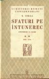 Sfaturi pe intuneric - vol.2 -  Nicolae Iorga
