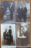 16 carti postale tip fotografie ,  cu persoane din Romania , interbelice, Necirculata