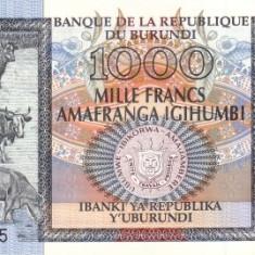 Burundi 1000 Franci 01.05.2006 - Prefix BX, P-39d UNC !!! - bancnota africa