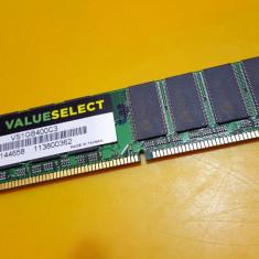 1GB DDR1 Desktop, Brand Corsair, 400Mhz, PC-3200(3) - Memorie RAM