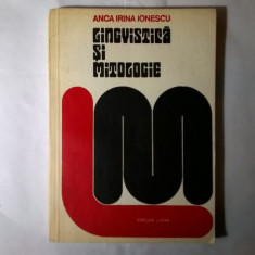 Anca Irina Ionescu - Lingvistica si mitologie - Eseu