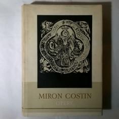 Miron Costin – Opere {1958} - Roman
