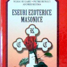 Eseuri Ezoterice Masonice - Stefan Masu - Carte masonerie