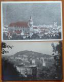 Brasov ; Kronstadt , 5 ilustrate din care 4 interbelice, Ambele, Romania 1900 - 1950