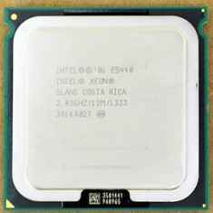 Procesor Intel Xeon E5440 Quad Core 2.83Ghz 12mb 1333Mhz sk 771 modat la 775 - Procesor PC Intel, Numar nuclee: 4, 2.5-3.0 GHz, LGA775