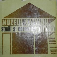 STUDII SI CERCETARI.MUZEUL SATULUI 1970 - Carte Fabule