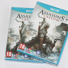 Joc Nintendo Wii U Assassin's Creed III WiiU Assassin Creeed 3 SIGILAT - Assassins Creed 4 Wii U Ubisoft