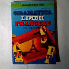 G. Ghidu, V. Pisoschi - Gramatica limbii franceze cu exercitii - Carte Literatura Franceza