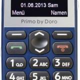 Telefon Doro Primo 365 pentru vârstnici, albastru
