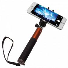 Selfie Stick extensibil cu control actionare shutter pe bluetooth