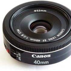 Obiectiv Canon EF40 2.8 STM - Obiectiv DSLR