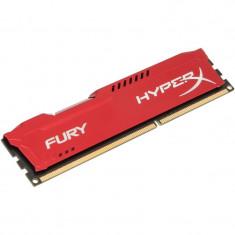 Memorie HyperX Fury Red 4GB DDR3 1333 MHz CL9 - Memorie RAM Kingston