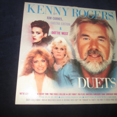Kenny Rogers With Kim Carnes, Sheena Easton&Dottie West ‎– Duets_vinyl Germania - Muzica Country Altele, VINIL