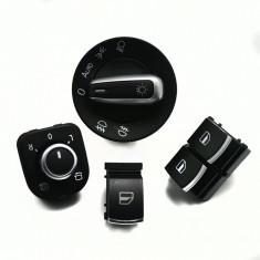 Set butoane chrome Volkswagen Golf 5, Golf 6, Eos, Tiguan, Passat B6 Bosch, GOLF V (1K1) - [2003 - 2009]