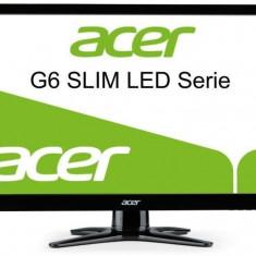 Acer Monitor LED Acer G236HLBbd, 23 inch, 1920x1080, 5ms, D-Sub, DVI, Negru (ET. VG6HE. B01)