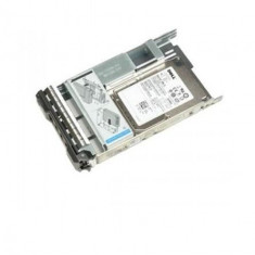 HDD Server DELL 300GB 10K RPM SAS 12Gbps 2.5in Hot-plug Hard Drive, 3.5in HYB CARR, CusKit.