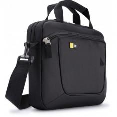 Geanta ultrabook 11.6' Case Logic, buzunar frontal, poliester, black 'AUA311K' - Geanta laptop Case Logic, Nailon, Negru