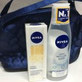 Set Nivea Q10 Serum Pearls / Apa Micelara / Trusa